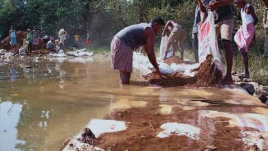 Photo of खूंटी: घोर नक्सल इलाके में बहने वाले गंगा नाला पर बना जिले का सबसे बड़ा बोरीबांध
