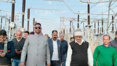 Photo of मंत्री सत्यानंद भोक्ता ने किया चोरकारी पावर सब स्टेशन का निरीक्षण, कहा- मार्च में मुख्यमंत्री करेंगे ग्रिड का उद्घाटन