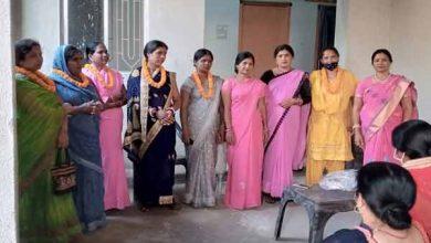 Photo of सामाजिक संस्था नारी शक्ति सेना गुलाबी गैंग ने महिला उद्यमियों को किया सम्मानित