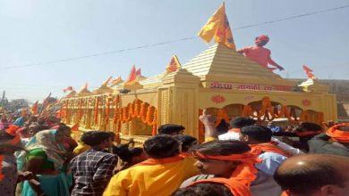 Photo of बरकट्ठा में राम-जानकी रथ यात्रा का आयोजन, बड़ी संख्या में पहुंचे राम भक्त