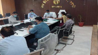 Photo of उप विकास आयुक्त की अध्यक्षता में डीएमएफटी और सीएसआर के तहत चलनेवाली विभिन्न परियोजनाओं की हुई समीक्षा