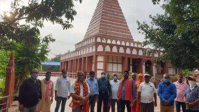 Photo of पांच माह बाद ऐतिहासिक मां भद्रकाली मंदिर का आम श्रद्धालुओं के दर्शन-पूजन के लिए खुला कपाट