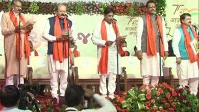Photo of Gujarat Cabinet Reshuffle Live: मुख्यमंत्री भूपेंद्र पटेल के मंत्रियों ने ली शपथ, जानिये किनको मिली जगह