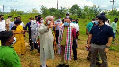 Photo of केंद्रीय सचिव पहुंचे घाटशिला, ग्रामीण विकास योजनाओं की ली जानकारी